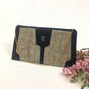 Vintage Pierre Cardin Envelope Clutch Bag